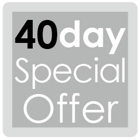 40day Special offer